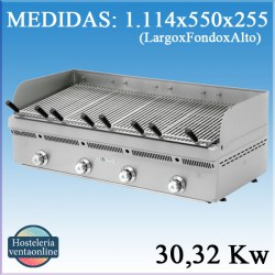 Barbacoa-Parrilla a gas Mainho PBV 120