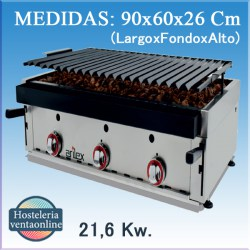 Barbacoa Parrilla a gas Arilex 90 bar