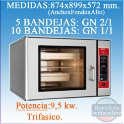 HORNO SALVA MASTER CHEF LD-5 HOST