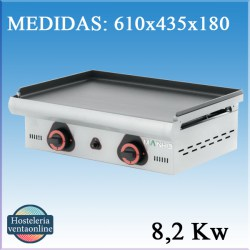 Plancha Mainho a gas ECO-60PV