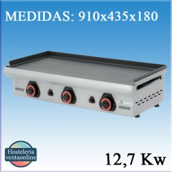 Plancha Mainho a gas ECO-90PV